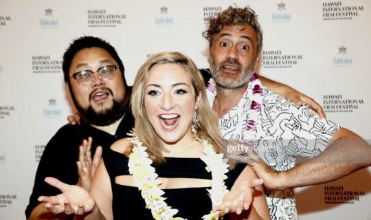 Taika Waititi, HIFF Maverick Awardee and on and off boyfriend of HIFF